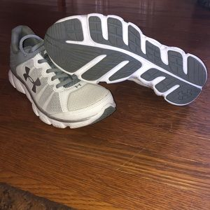 White Under Armour Sneakers (new condition)